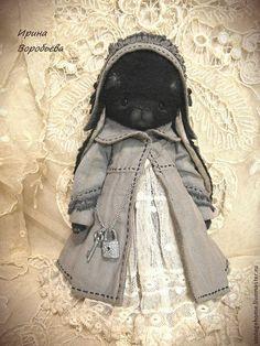 Агата - чёрный,зайка девочка,зайка тедди,зайка в платье,зайка в одежде