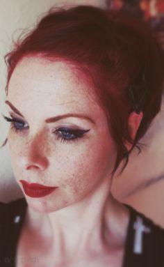 Freckle alert!  (March 2014)  https://www.facebook.com/NefertemPhotography