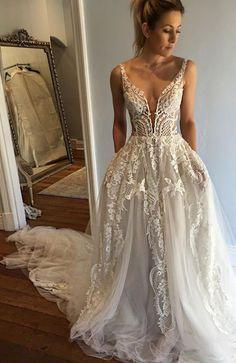 lace long wedding dresses, wedding dresses long, special wedding gowns, new arrival wedding dresses