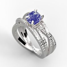Would you wear this sapphire & diamonds ring?
