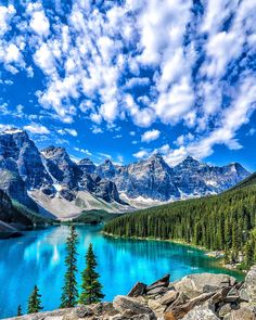 Around the world with me - Moraine Lake - Banff National Park - Alberta Canada