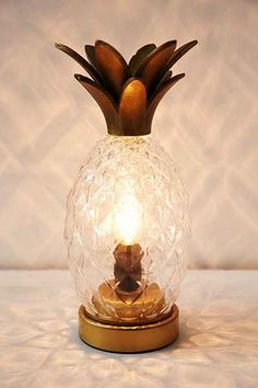 Plum & Bow Pineapple Table Lamp - Urban Outfitters
