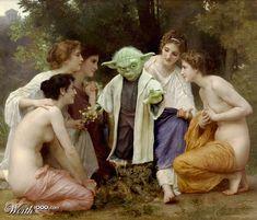 Site publica imagens de Star Wars misturando-se com arte clássica   Notícias   Filmow