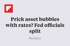 Prick asset bubbles with rates? Fed officials split http://flip.it/FF1Ca