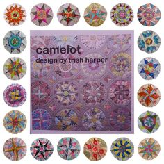 Little Island Quilting: The Camelot Quilt - all blocks complete