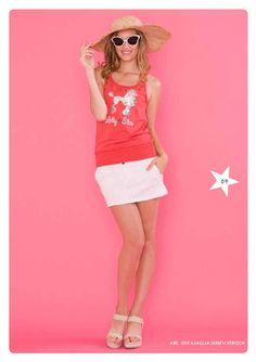#Red & #Glitter - Maglia Jersey Stretch #LollyStar #PrimaveraEstate #PE