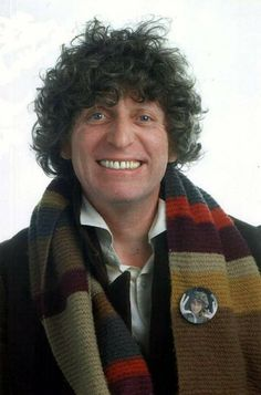 Fourth Doctor, Tom Baker  I love his smile!