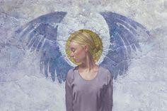 Angel Unaware- by James C. Christensen ANNIVERSARY EDITION CANVAS
