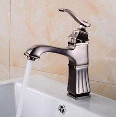 European Style Antique Basin Tap ORB Mixer Bathroom Sink Tap T0105OR Basin Mixer Taps, Bathroom Sink Taps, Kitchen Taps, Waterfall Taps, Plating Techniques, Low Water Pressure, Brass Tap, Water Spout