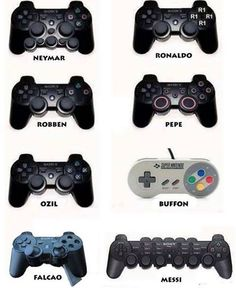 Memes: What Game Controllers Look Like For Soccer Players Funny Football Memes, Soccer Jokes, Funny Sports Memes, Crazy Funny Memes, Funny Puns, Really Funny Memes, Funny Games, Funny Relatable Memes, Footy Jokes