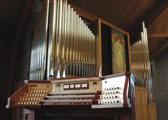 Out of all the instruments I play the pipe organ is without a doubt my favorite!