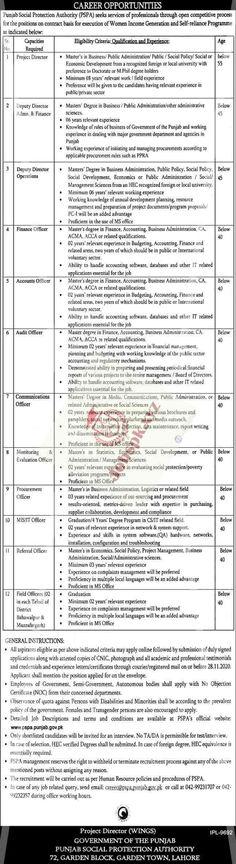 40 Punjab Jobs Ideas In 2020 Job Punjab Government Jobs