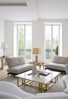 Louvre Apartment - Paris (Pierre Yovanovitch)