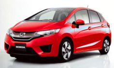 2014 Honda Jazz Red