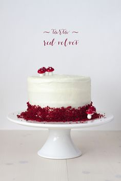 Tarta red velvet, 3 años y ¡sorteo! - Lost in Cupcakes