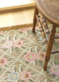 The Garden Trellis Wool Rug from Dash and Albert is a hand-hooked 100% wool rug that is backed with 100% cotton. Dash & Albert rugs coordinate and compliment our extensive line of Pine Cone Hill bedding and work well with a variety of decor styles including cottage, traditional and contemporary. Use these delightful rugs alone to anchor a seating area or hallway, or use a combination of rugs to accent your favorite rooms.