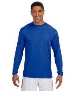 A4 Long Sleeve Cooling Performance Crew Shirt N3165