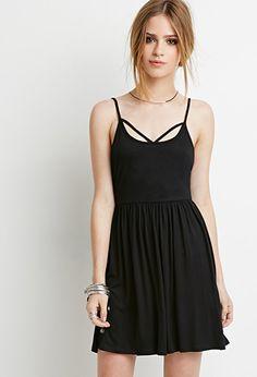 $14.90 Crisscross Cami Babydoll Dress | Forever 21 - 2000154261