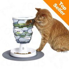 Catit Design Senses Voer Labyrint - ca. H 33 cm, Ø 24 - Kattenspeeltjes. Crazy Cat Lady, Crazy Cats, Pet Shop, Chat Royal, Best Cat Food, Interactive Cat Toys, Cat Feeder, Unique Cats, Cat Supplies