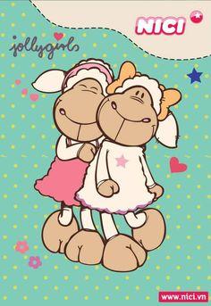 NICI: Jolly Amy and Jolly Frances:)