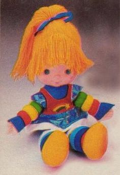 Rainbow Brite Doll - 80s Toys and Games, Dolls and Figures | Stuff from the | http://cartoonphotocollections.blogspot.com