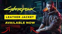 Cyberpunk2077 Leather Jacket Motorcycle Jackets, Cyberpunk 2077, Computer Technology, Real Leather, Science Fiction, Leather Jacket, Sci Fi, Studded Leather Jacket, Leather Jackets