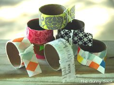 DIY:  How To Make Your Own Washi Tape - great tutorial with excellent instructions.  This is made from double-sided tape & tissue paper!