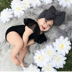 Bild über Mädchen in Mode von -`ღ´- ρяεттү ιη ριηк Ձ-`ღ´- - - So Cute Baby, Cute Baby Girl Outfits, Cute Baby Clothes, Babies Clothes, Kid Outfits, Baby Monat Für Monat, 6 Month Baby Picture Ideas, Foto Baby, Cute Baby Pictures