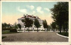 Gladstone Boulevard showing R. A. Long Residence Kansas City Missouri
