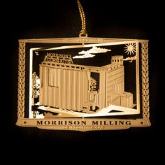 Morrison Milling Ornament | DHLF : Denton Holiday Lighting Festival