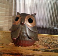 Hey, I found this really awesome Etsy listing at https://www.etsy.com/listing/211054816/owl-handcrafted-stoneware-by-designs