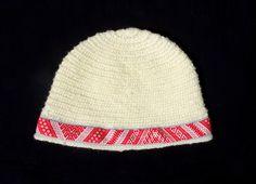 Viking White Wool Hat / Slavic Karelian by CroneYhrmCrafts on Etsy