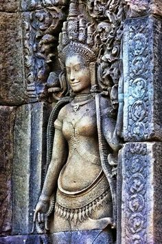 Angkor Wat in Cambodia - Images Bas-relief
