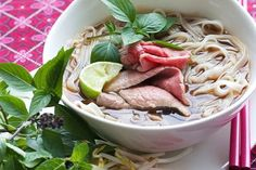 An authentic Vietnamese Pho Recipe from award-winning cookbook, Into The Vietnamese Kitchen by Andrea Nguyen. Step by step photos with secret tips!