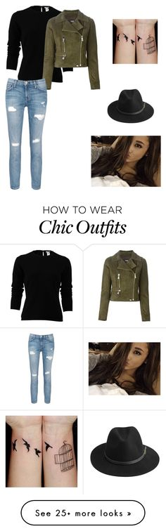 """Untitled #449"" by lilmarauder on Polyvore featuring Oscar de la Renta, Versus, Current/Elliott and BeckSöndergaard"