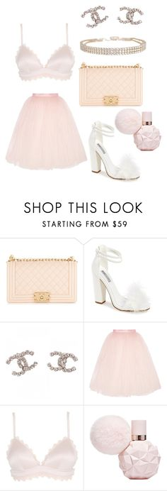 """gabi demartino ♡"" by millefeuillex ❤ liked on Polyvore featuring Chanel, Topshop, Ballet Beautiful, STELLA McCARTNEY and Humble Chic"