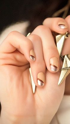 Graphic mani--next mani! for sure.