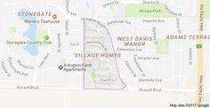 Mapa de Village Homes, Davis, CA 95616, EUA