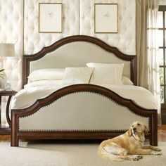 Classique Upholstered Panel Bed