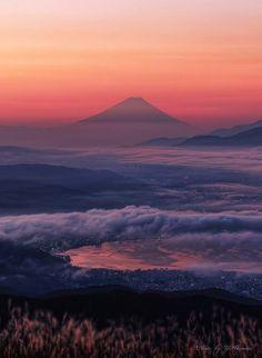 Mt.Fuji, Japan: photo by Yuichi Harada