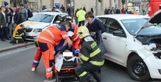 Nehoda se zraněním v Plzni