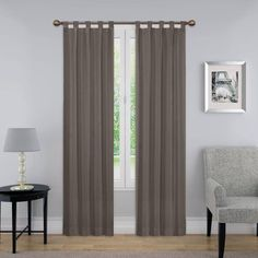 Pairs to go Montana Panel Pair, Available in Multiple Sizes and Colors, Gray