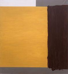 Raoul De Keyser - Slot, 1990  olieverf op doek  120,5 x 110,5 cm
