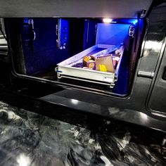 Get to your storage with ease by adding the MORryde tray slide to your Luxe luxury fifth wheel Fifth Wheels For Sale, Luxury Fifth Wheel, Toy Hauler, Tray, Storage, Purse Storage, Larger, Trays, Board