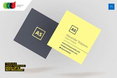 Square Executive Business Card 61