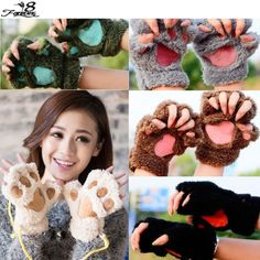 1 Pair of Fashion Women Lady Girls Winter Warm Paw Gloves Fingerless Fluffy Bear Cat Plush Paw Claw Glove Mittens  $2.15  http://potalapalace.myshopify.com/products/1-pair-of-fashion-women-lady-girls-winter-warm-paw-gloves-fingerless-fluffy-bear-cat-plush-paw-claw-glove-mittens?utm_campaign=outfy_sm_1483590686_211&utm_medium=socialmedia_post&utm_source=pinterest   #love #me #cool #instagood #glam #beauty #cute #pretty #fashionista #smile #instadaily #swag #ootd #style #instacool
