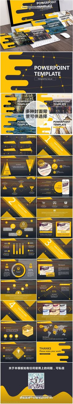Bizplan Triangle Powerpoint Template  Triangles