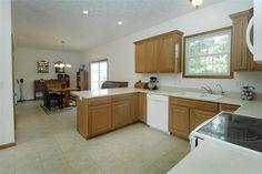 large, open kitchen area
