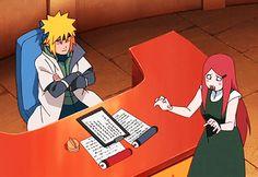 Naruto Shippuden- Minato and Kushina moments