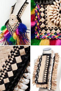 Rafia accesories by Maryann Talia Pau